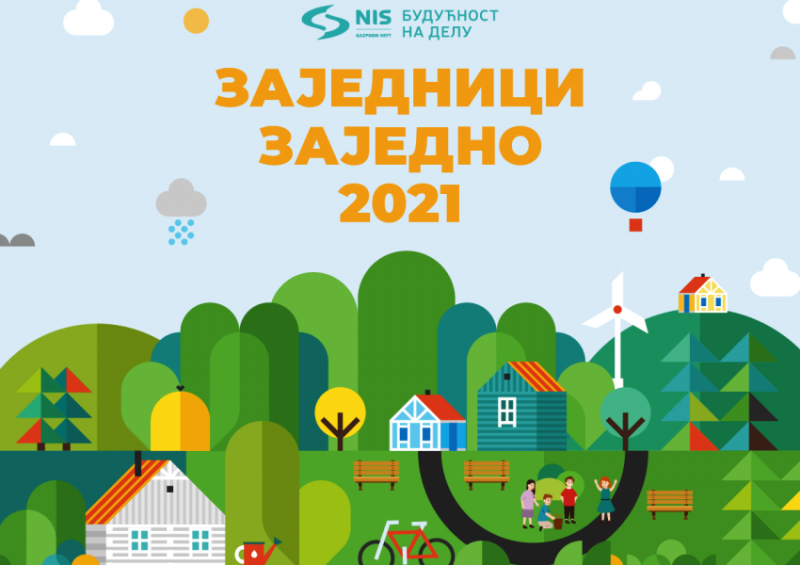 NIS u ekološke projekte Zajednici zajedno 2021. ulaže 107,5 miliona dinara
