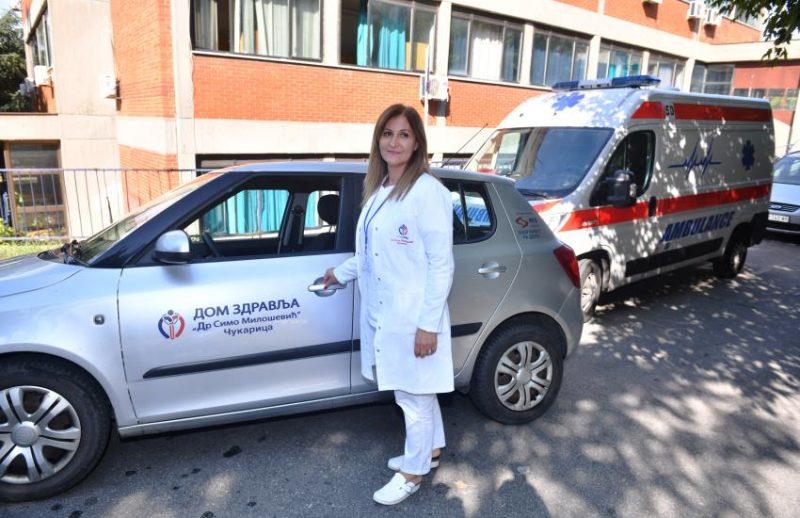 NIS donacijama pomogao Domu zdravlja Dr Simo Milošević na Čukarici
