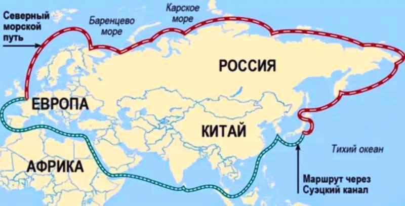 Hoće li Severni morski koridor zameniti tranzit kroz Suecki kanal?