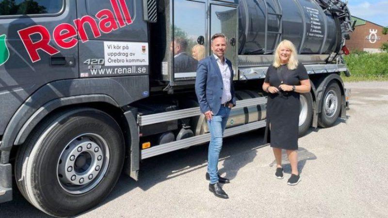 Švedska koristi komunalna vozila na biogas