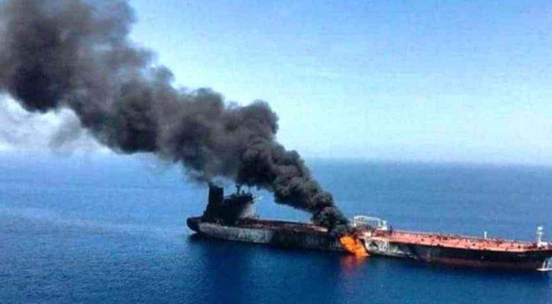 Izraelski tanker na meti dronova
